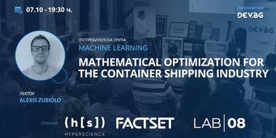 Machine Learning: Mathematical optimization for the container shipping indu