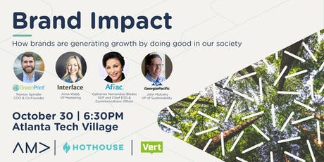 AMA Innovation Marketing: Brand Impact: How Brands are Generating Growth by Doing Good in Our Society tickets