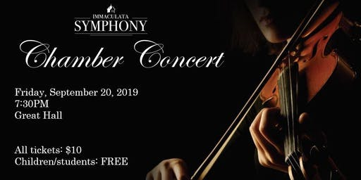 Immaculata Symphony Orchestra Chamber Concert