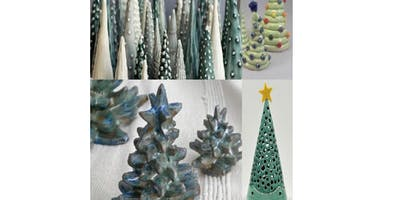 3 Day Oh Tannenbaum Handbuilt Tree for the Holidays....With Aurora Lucas