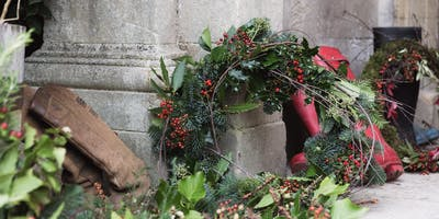 Christmas Wreath Making at the Mount Haven with Ruby Alice Floral Design & Styling