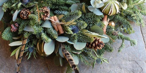 Luxury Wreath Making Workshop With Gin Tasting