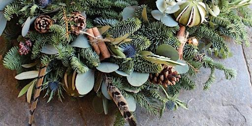 Luxury Wreath Making Workshop With Gin Tasting
