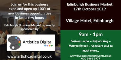 Edinburgh Business Market sponsored by Artistica Digital