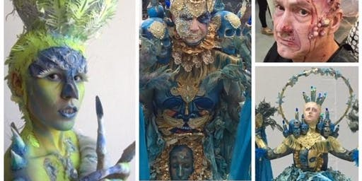 How to make 3D effects for your face and body art - Angela Youngs