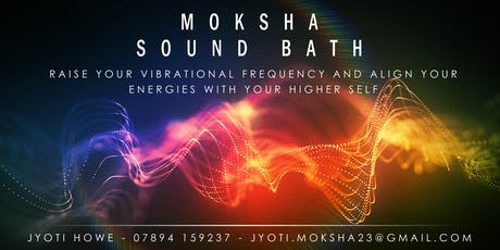 Moksha Sound Bath tickets