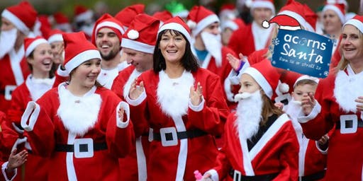 Acorns Santa Run - Evesham