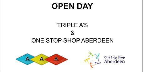 Autistic Led Triple A's & One Stop Shop Aberdeen Open Day tickets