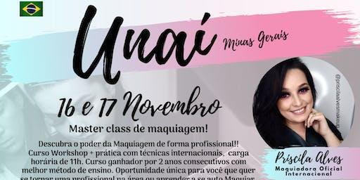 MASTER CLASS DE MAQUIAGEM - UNAÍ MG