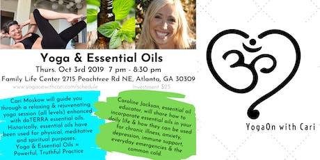 Yoga & Essential Oils tickets