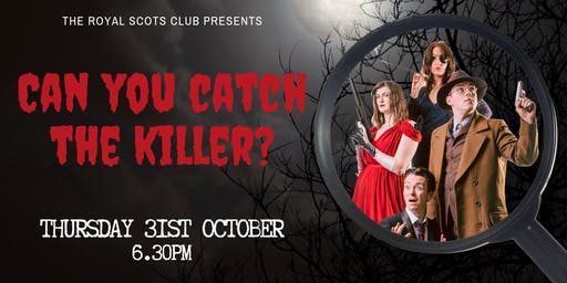 Can you catch the killer? Murder Mystery Dinner
