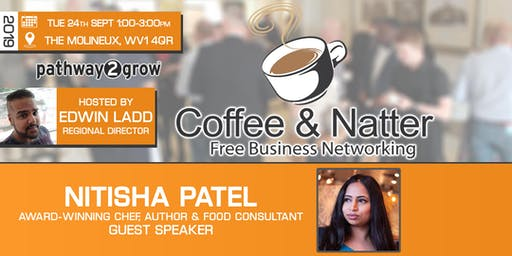 Wolverhampton Coffee & Natter - Free Business Networking Tues 24th Sept 2019