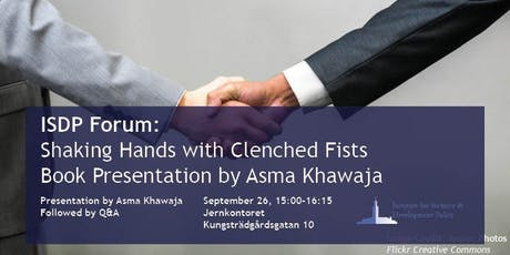 Shaking Hands with Clenched Fists - Book Presentation by Asma Khawaja tickets