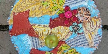 Fabric Mandala Workshop with Art Therapist Jennifer Baldwin tickets