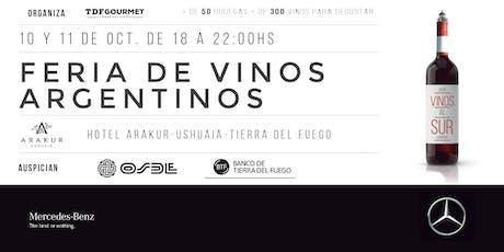 Feria Vinos Al Sur - Ushuaia 2019 entradas