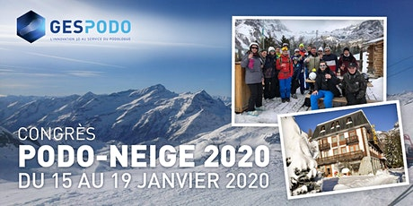 Congrès Podo-Neige 2020 biglietti