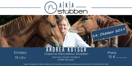 Andrea Kutsch Akademie powered by Stübben Tickets