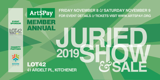 ArtsPay Annual Show and Sale 2019
