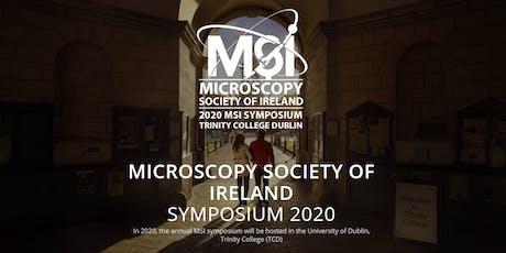 Microscopy Society Ireland Symposium 2020 tickets