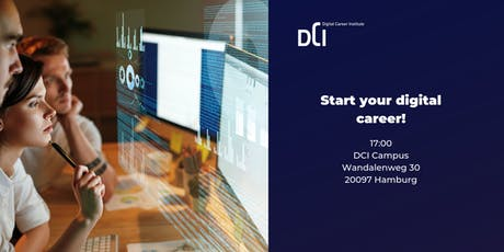 Hamburg: Start your digital career! tickets