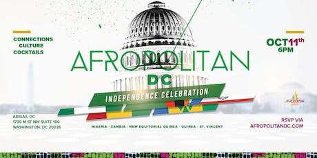 AfropolitanDC (October) - Nigerian Independence Edition - Largest Cultural Mixer For Diaspora Professionals tickets
