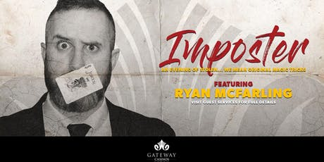 IMPOSTER, An Evening Of Stolen Original Magic Tricks tickets