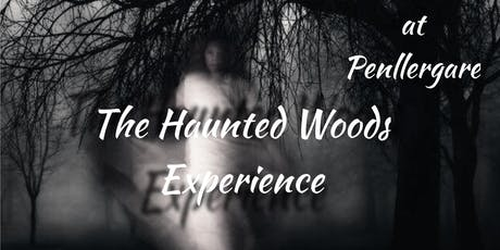 The Haunted Woods Experience - Ghost Hunt + Ghost Walk ( Swansea) tickets