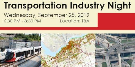 Transportation Industry Night tickets