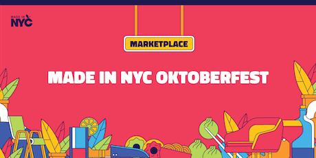 Made in NYC Oktoberfest @ Hester Street Fair tickets