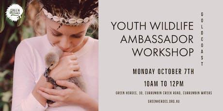 Green Heroes Youth Wildlife Ambassador Workshop tickets