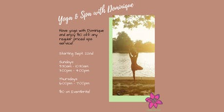 Yoga & Spa with Dominique  tickets