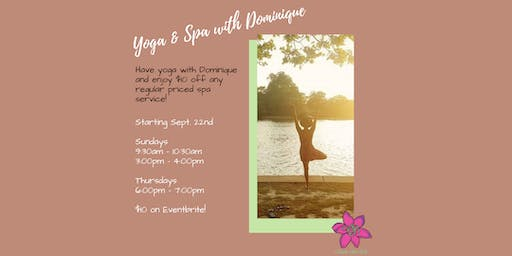 Yoga & Spa with Dominique