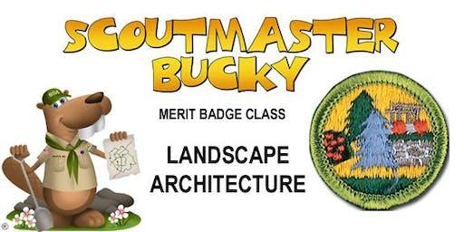 Landscape Architecture Merit Badge - 2019-11-09 - Saturday AM - Scouts BSA