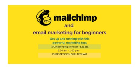 Mailchimp & Email Marketing for beginners tickets