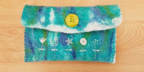 Felt & Embroidery - a joint workshop with Agnis Smallwood & CherryPeg tickets