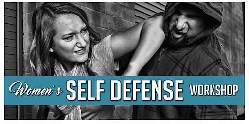 Warrington September FREE Womens Self Defence Workshop