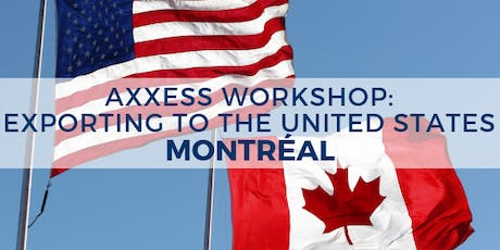 WORKSHOP: Exporting to the United States - Montreal tickets