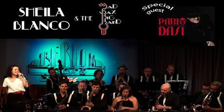 SWINGHITS (Sheila Blanco & Mad Sax Big Band - Artista Invitado: Pablo Dasi) entradas