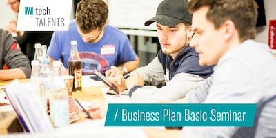 Kickoff | Business Plan Basic Seminar WS 19/20 | UnternehmerTUM
