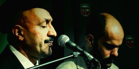 Iraqi Maqam and Religious Rituals with Hamed Al-Saadi & Amir Elsaffar tickets