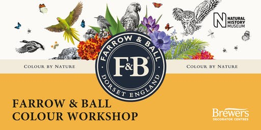 Farrow & Ball Colour Workshops at Brewers Canterbury