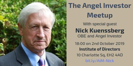 Angel Investor Meetup with Nick Kuenssberg OBE tickets