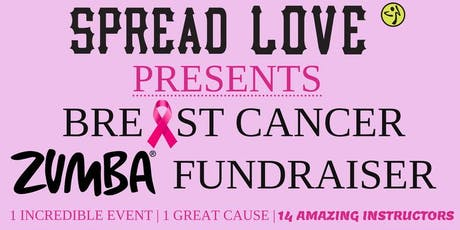 Spread Love Breast Cancer Zumba Fundraiser tickets