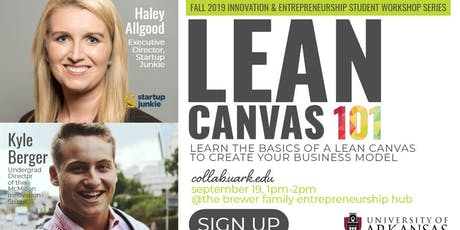 Lean Canvas 101 tickets