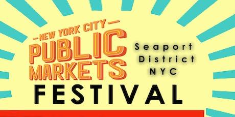 NYC Market Taste & Talk Series tickets