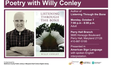 Poetry with Willy Conley tickets