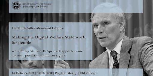 Ruth Adler Memorial Lecture: Philip Alston