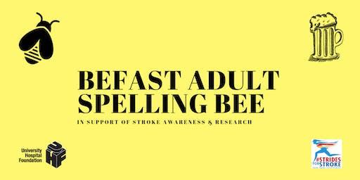 BEFAST Adult Spelling Bee