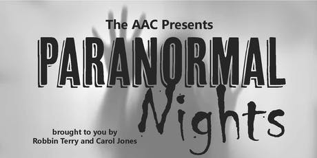AAC Paranormal Nights tickets