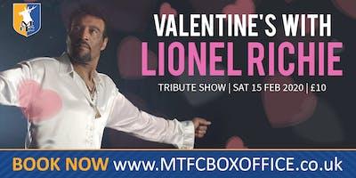 Valentines With Lionel Richie Tribute - The Amazing Hamilton Browne